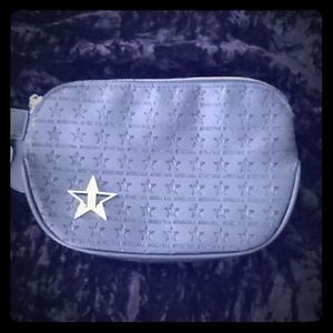 Black fanny pack Jeffree star vegan